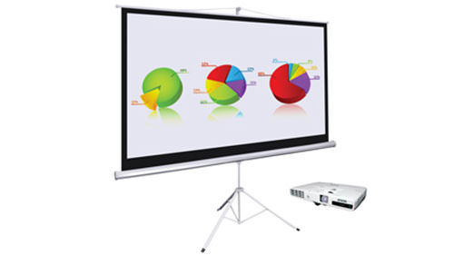 HD Wireless Data Projector & Screen
